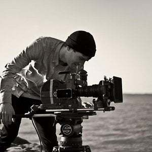 Me filming on 16mm 2013