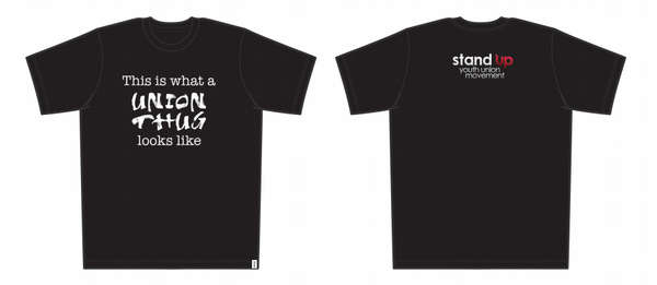 Our super rad Union Thugs t-shirt