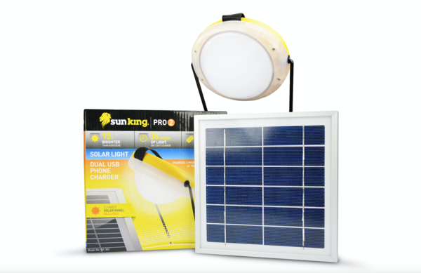 Sun King Pro solar light and charging kit