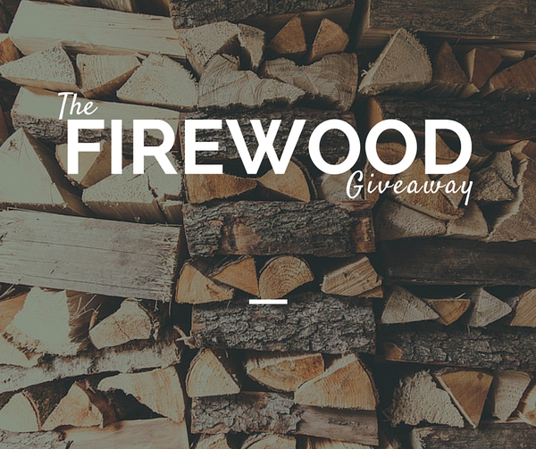 Firewood giveaway