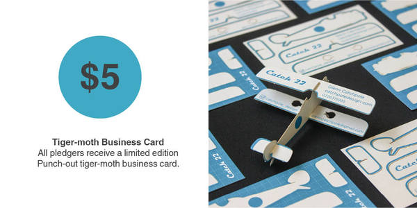 Tiger-moth Business Card