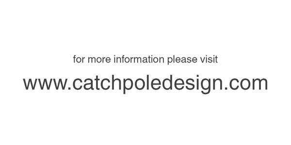 Visit catchpoledesign.com