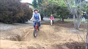 kids pump track