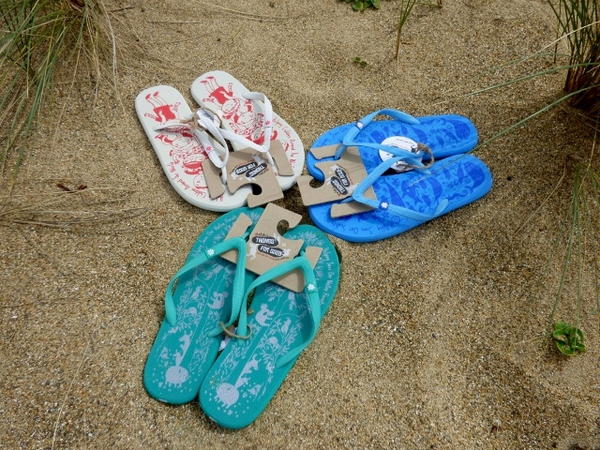 Etiko Jandals, available in 3 styles