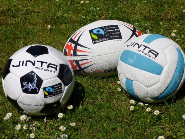 Jinta Fairtrade Sports Balls