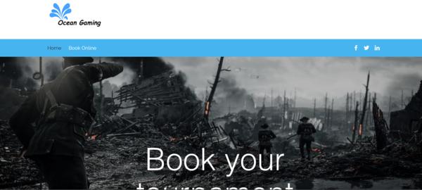 Ocean Gaming Website