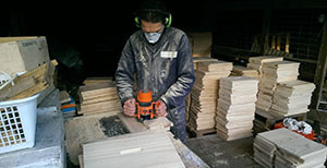 Preparing bee boxes