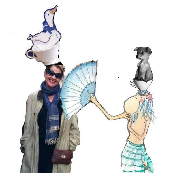 Bibi Yogi and Aristotle the Yogamonkey