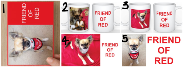 'Friend of Red' rewards