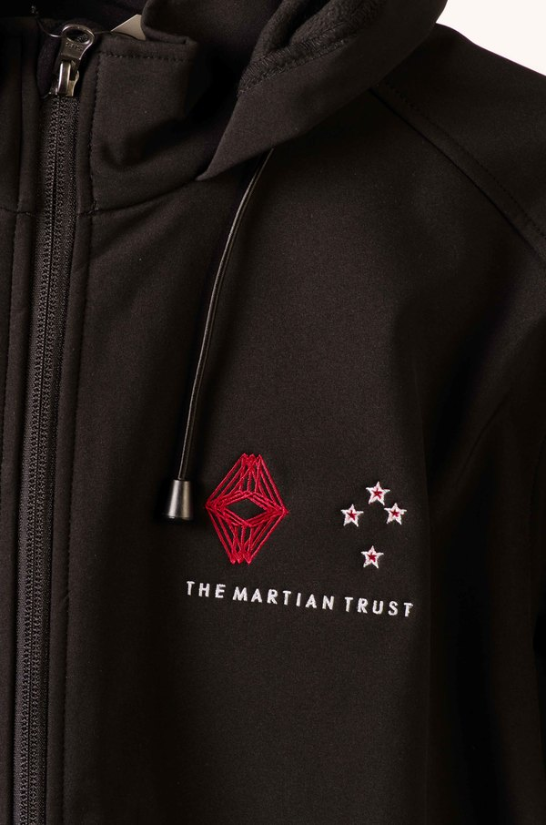 NZ version of Trust Logo, Embroidered