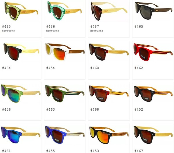 Moana Road sunglasses