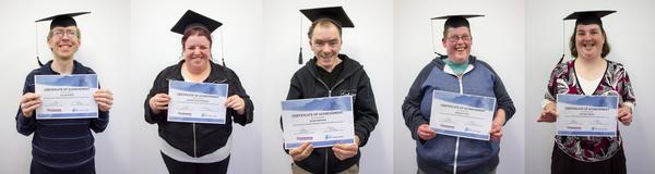 First graduates