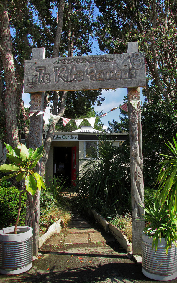 Entrance of Te Rito Gardens