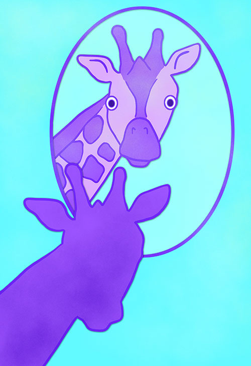 Little Purple GIraffe