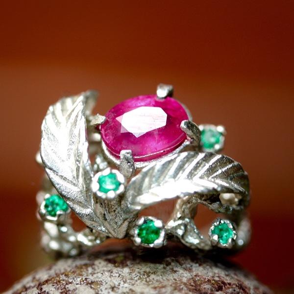 Zora Bell Boyd 'Ruby' Ring