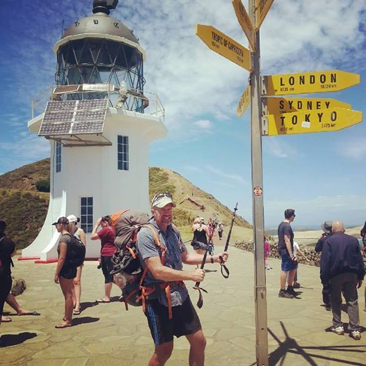 Starting from Cape Reinga, February 1st