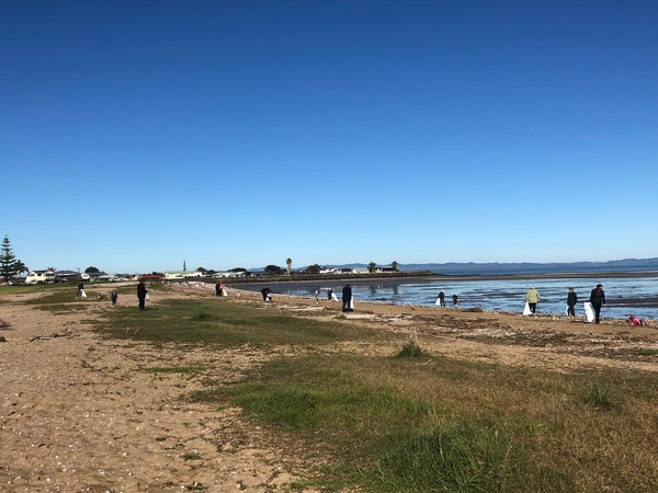 Kuranui Beach Clean Up