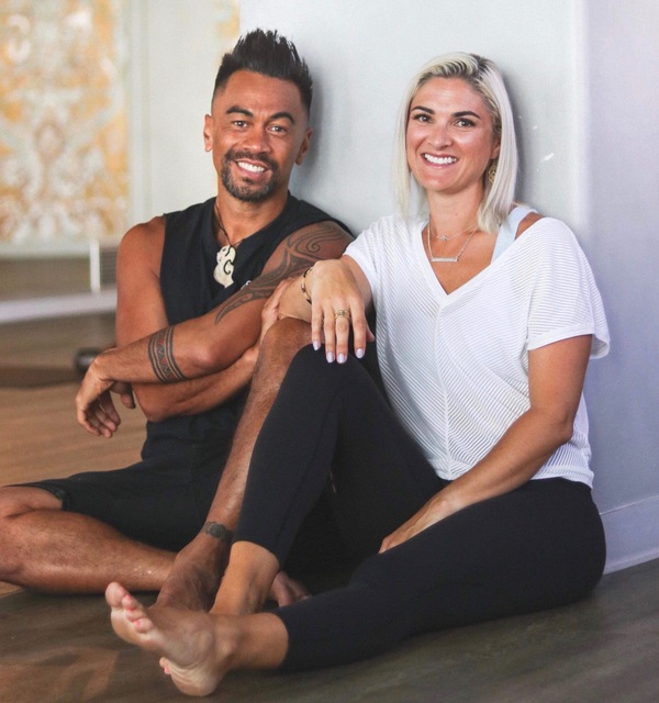 Jase Te Patu and Shirley McLeod: Wellington-based Yoga Teachers and creators of the Te Reo Yoga Cards