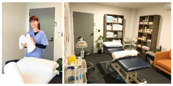 Leigh and Treatment Room
