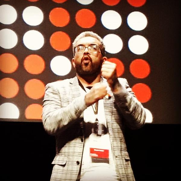 Jared Flitcroft at Imaginative Film Festival