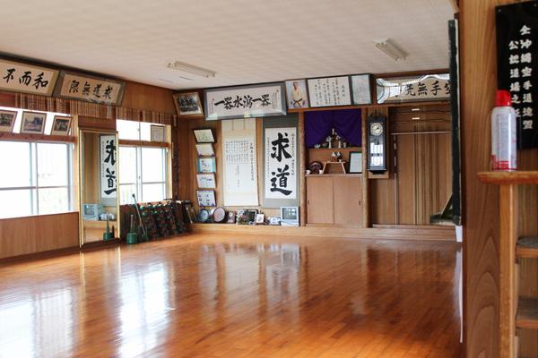 The Dojo of master Nakazato in Okinawa.