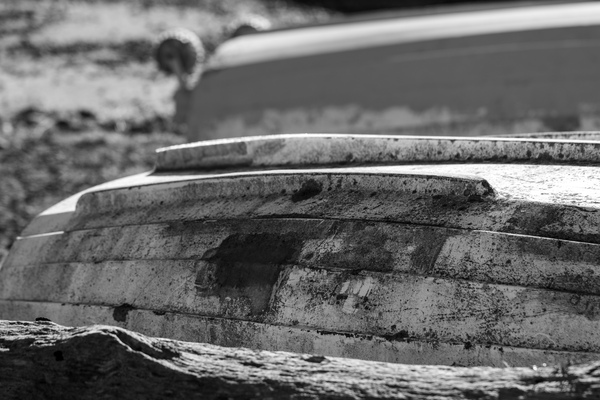 Black and White Dinghy