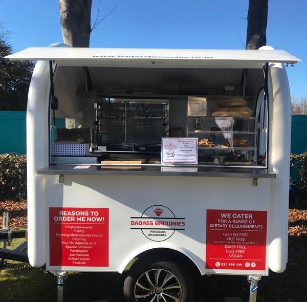 Badass Brownie food truck trailer