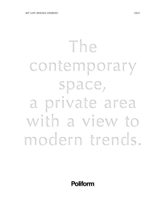 Poliform Magazine Milan 2017