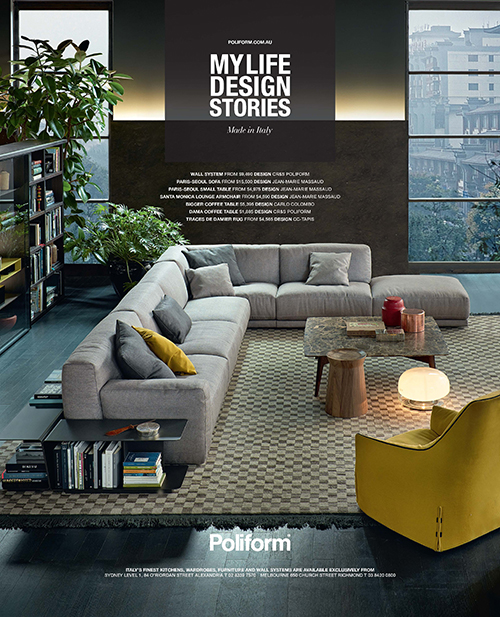 Advertising | Paris Seoul Sofa