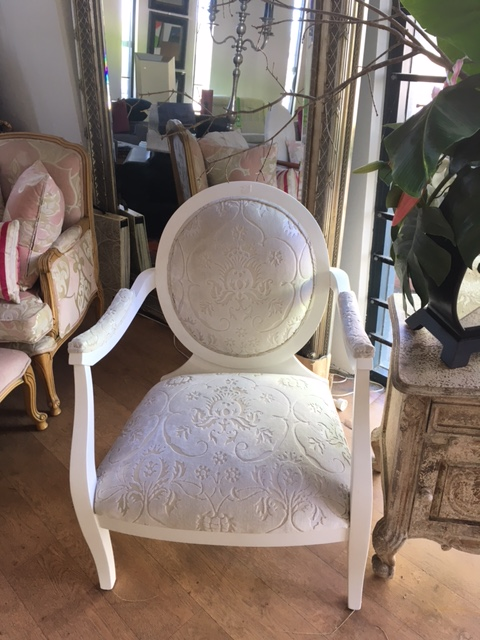 French style chair. Italian frame