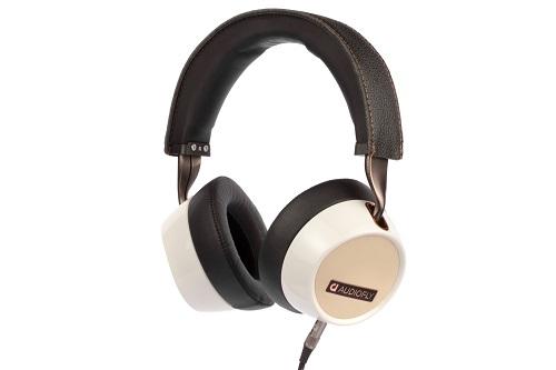 AUDIOFLY 240 White Over-Ear Headphones