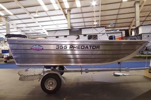 Tattoo Predator 355 car topper dinghy