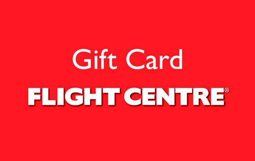 $500 Flight Centre Gift Card