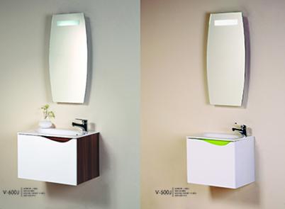 Mirror with flouro illumination & switch JV400