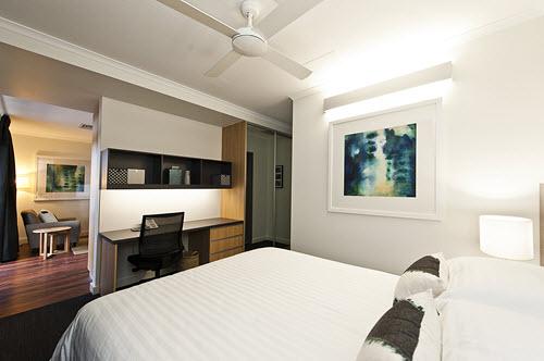 2 NIghts Executive studio apartment inc b'fast