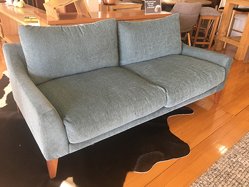 Bespoke 2.5 seater sofa. Made in WA.