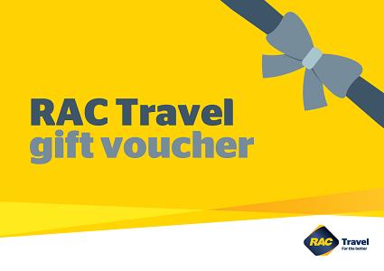 $200 gift voucher for RAC Travel