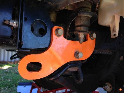 FRONT RECOVERY POINTS - TOYOTA HILUX