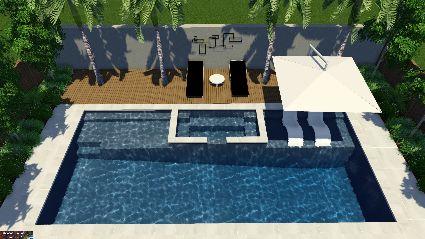 Barrier Reef Pools 12m Resort Pool