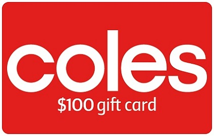 $100 Coles Gift Card