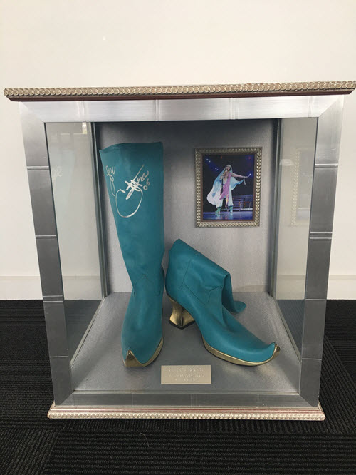 Cher's Boots - Signed