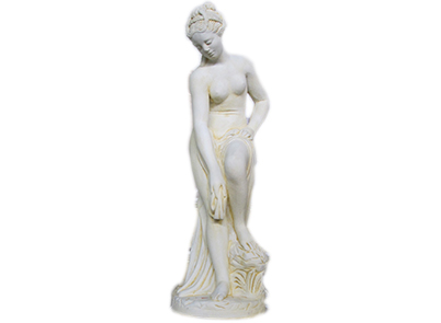 Lge Isabella Statue with Lge Block Base