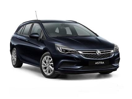 2017 Holden Black Astra LS+ Sportwagon 1.4L Petrol Automatic