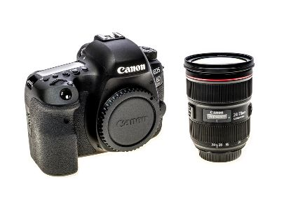 CANON EOS 6D II BODY + 24-70MM F4 LENS