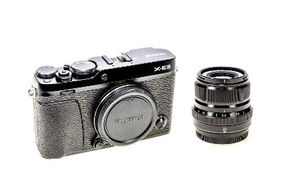 FUJIFILM X-E3 BLACK BODY + 23MM LENS