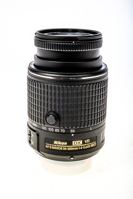 NIKON AFS DX NIKKOR 55-200MM F4-5.6 Lens
