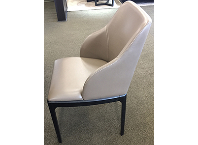 CH-12038 Leather dining chair