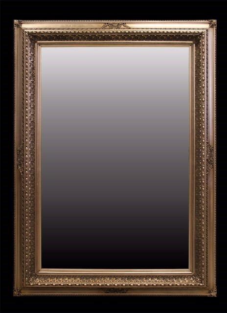 Large Ornate Gold Framed Mirror 230cms H x 160 cms W