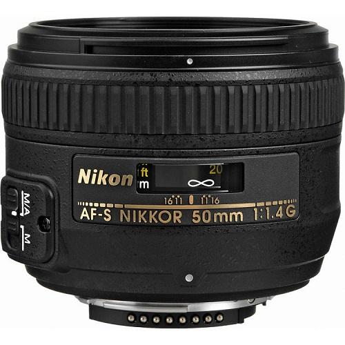 NIKON AF-S NIKKOR 50MM F1.4G LENS