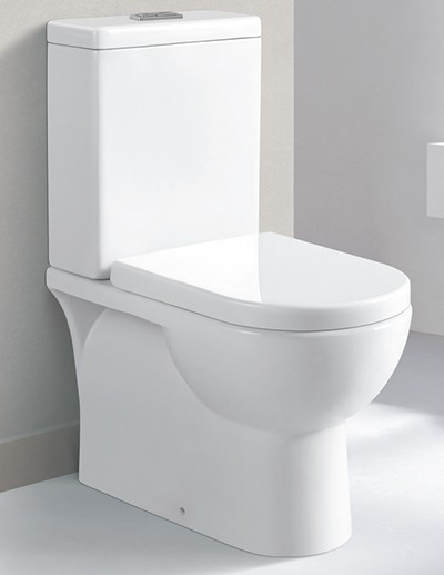 Johnson china wall faced toilet suite